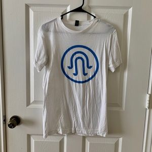 Tops - Imagine Music Festival White & Blue T Shirt